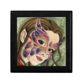 Butterfly Mask Fairy Jewelry Keepsake Box