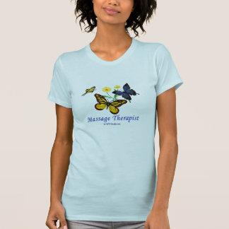 Butterfly Massage Therapist T-Shirt
