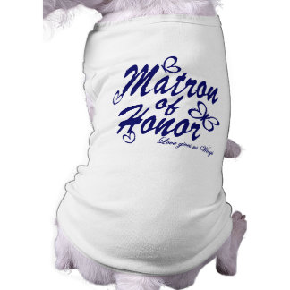 Butterfly/Matron of Honor Doggie Tee