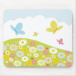 Butterfly Meadow Mouse Pad