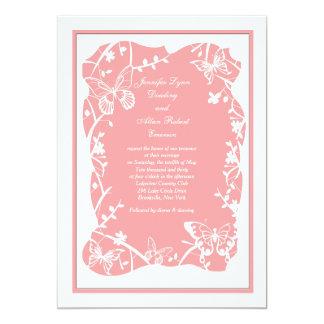 Butterfly Meadow Wedding Invitation