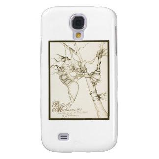 Butterfly Mechanics 001 Samsung Galaxy S4 Case