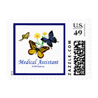Butterfly Medical Assistant Postage