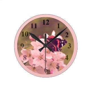 Butterfly Medium Wall Clock by Janz