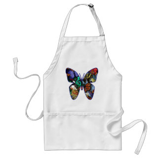 Butterfly Medley Adult Apron