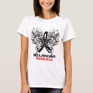 Butterfly Melanoma Awareness T-Shirt