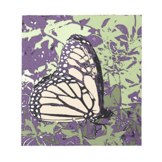 BUTTERFLY MEMO NOTE PADS