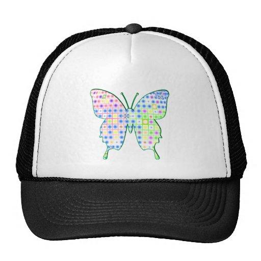 butterfly mesh hats