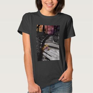 Butterfly messenger woman's T-shirt