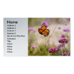 Butterfly - Monarach - The sweet life Double-Sided Standard Business Cards (Pack Of 100)