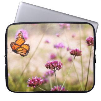 Butterfly - Monarach - The sweet life Computer Sleeve