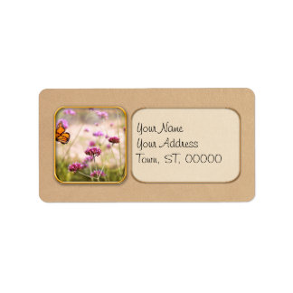 Butterfly - Monarach - The sweet life Custom Address Labels