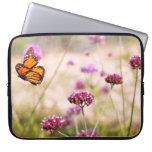 Butterfly - Monarach - The sweet life Laptop Computer Sleeve