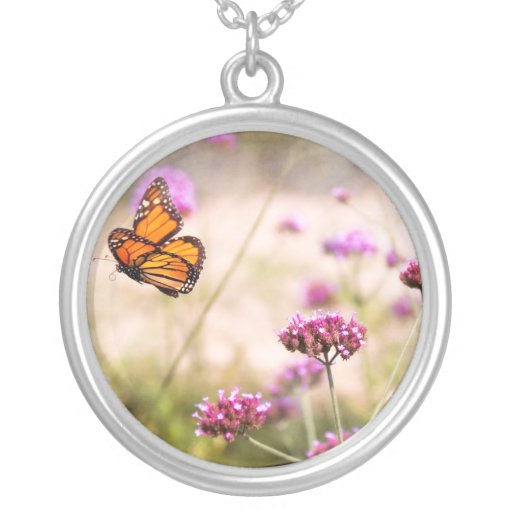 Butterfly - Monarach - The sweet life Necklace