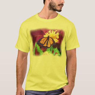 Butterfly_monarch_9251Hpaint_Paint T-Shirt