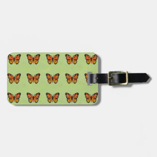 Butterfly Monarch Colorful Bag Tag