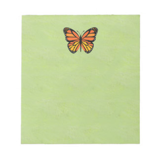 Butterfly Monarch Colorful Notepad