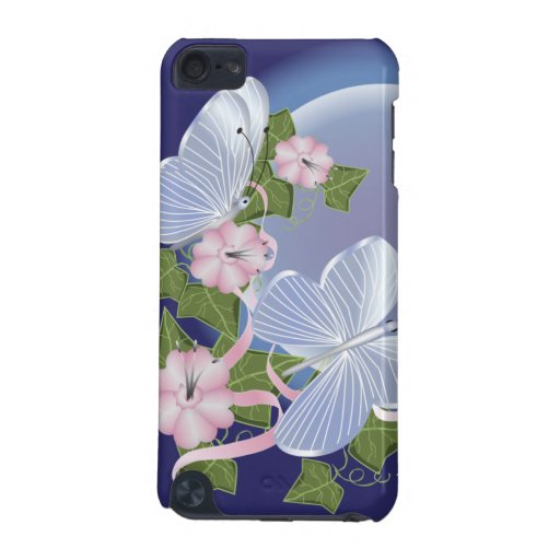 Butterfly Moon Beams iPod Touch 5G Cases