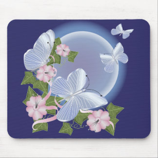 Butterfly Moon Beams Mouse Pad