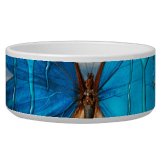 Butterfly - Morpho - I hate it when the colors run Bowl