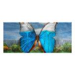 Butterfly - Morpho - I hate it when the colors run Rack Cards