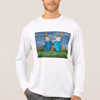 Butterfly - Morpho - I hate it when the colors run T-shirts