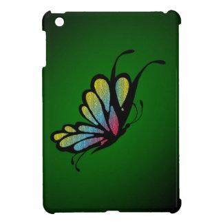 Butterfly Mosaic Green iPad Mini Case