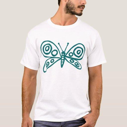 Butterfly - Moss Green T-Shirt