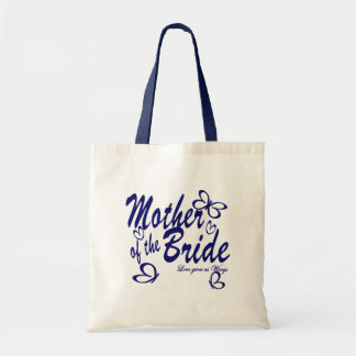 Butterfly Mother of the Bride Canvas Bags