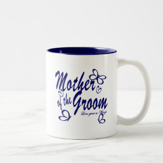 Butterfly/Mother of the Groom Two-Tone Coffee Mug