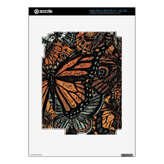 BUTTERFLY MOTIF Decals Decal For iPad 3