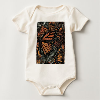 BUTTERFLY MOTIF Infant Creeper