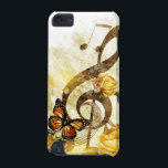 "Butterfly Music Notes iPod Touch 5G Case<br><div class=""desc"">Butterfly Music Notes</div>"