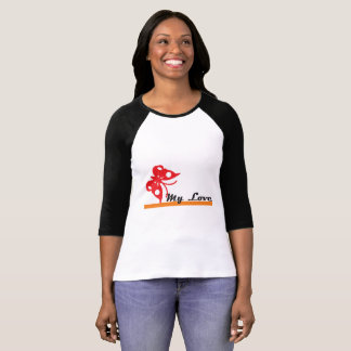 butterfly my love shirts woman