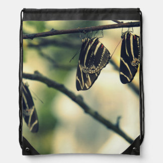 Butterfly Nap Drawstring Backpack