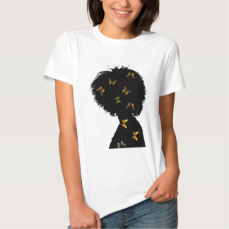 Butterfly Natural T-shirts
