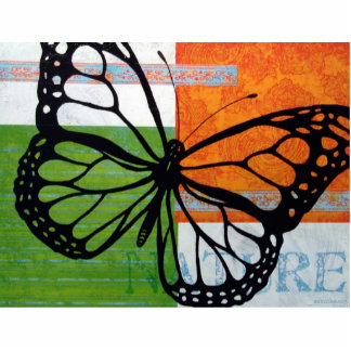 Butterfly Nature Statuette