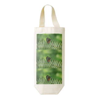 Butterfly Nature Zazzle HEART Wine Bag