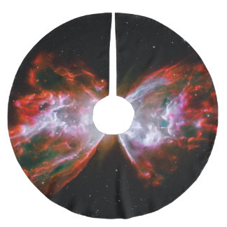 Butterfly Nebula astronomy picture Brushed Polyester Tree Skirt