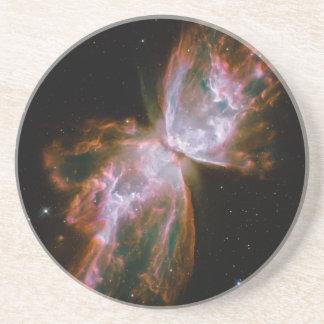 Butterfly Nebula Drink Coaster