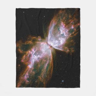 Butterfly Nebula Fleece Blanket