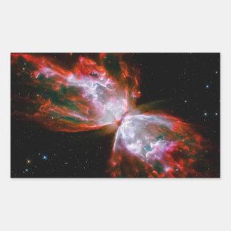 Butterfly Nebula in Scorpius Constellation Rectangular Sticker