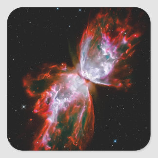 Butterfly Nebula in Scorpius Constellation Square Sticker
