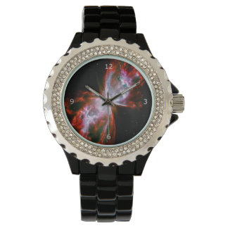 Butterfly Nebula in Scorpius Constellation Wrist Watch