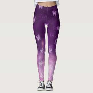 Butterfly Nebula Leggings