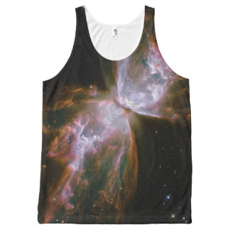Butterfly Nebula NGC 6302 All-Over Print Tank Top