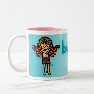 butterfly nectar. Two-Tone coffee mug
