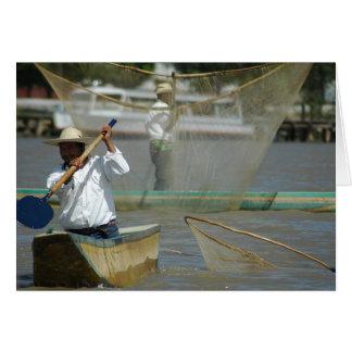 Butterfly Net Fishermen Card