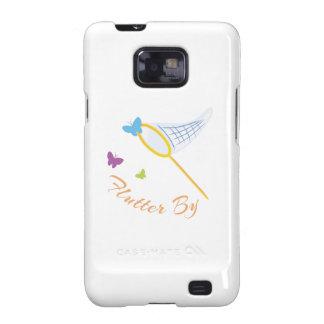 Butterfly_Net_Flutter_By Samsung Galaxy SII Carcasa