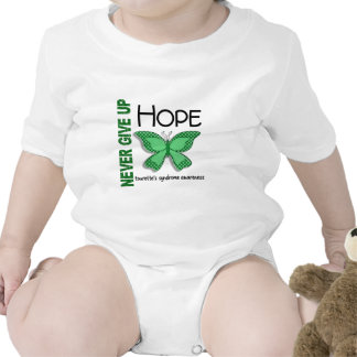 Butterfly Never Give Up Hope Tourette's Syndrome T Shirt